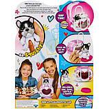 Little Live Pets OMG Интерактивный щенок собачка сквиш и переноска сумочка 28942 Squishy Puppy so Soft, фото 4