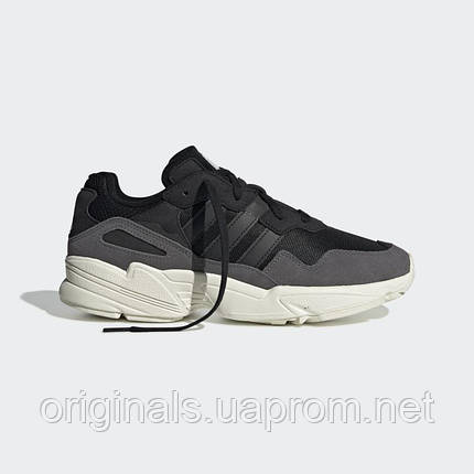 Кроссовки Adidas Originals Yung-96 мужские чеерно-серые EE7245, фото 2