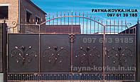 Кованные ворота 11830