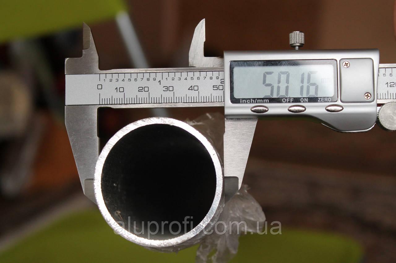 Труба  алюминиевая ф50 мм (50х2мм) АД31Т, 6060