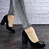 Туфли женские на каблуке Fashion Claire 1788 36 размер 23 см Черный