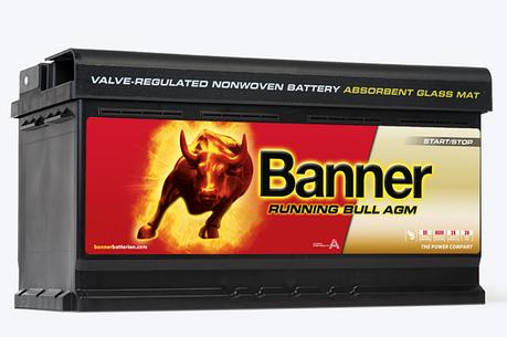 Banner 6СТ-92 Running Bull AGM 59201 Автомобильный аккумулятор, фото 2