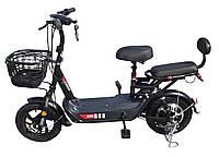 Электровелосипед «Бычок»,  двухместный, с корзиной