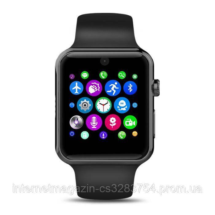 Умные часы Lemfo LF07 DM09 со слотом под SIM карту Черный (swlemlf07bl)