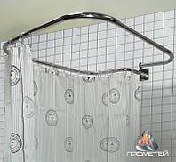 Овальний карниз за індивідуальним замовленням з нержавіючої сталі для ванної, Ø 20мм, 25мм, 30мм, 32мм., фото 1