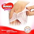Підгузки-трусики Huggies Pants для дівчаток 6 (15-25кг), 30шт, фото 4