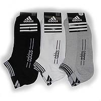 Мужские носки с надписью Adidas от 8,25 грн./пара (короткие, сетка)