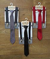 Подтяжки с галстуком для мальчика Турция,интернет магазин,детская одежда Турция,атлас