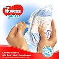 Підгузки-трусики Huggies Pants для хлопчиків 6 (15-25кг), 30шт, фото 6