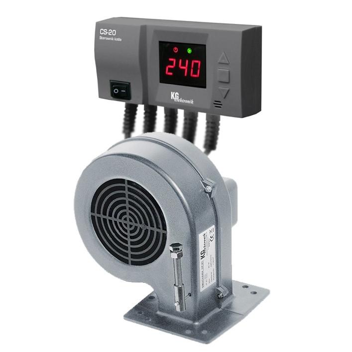 Вентилятор DP-02 + блок управления  TAL ELEKTRONIK CS-20 для твердотопливных котлов