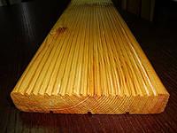 Доска террасная и палубная из сосны купить в Харькове
