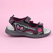 Спортивные сандалии босоножки на девочку Графит тм Том.м размер 34, фото 3