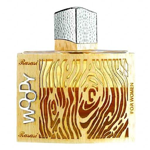 Женская парфюмерная вода Woody 55ml. Rasasi