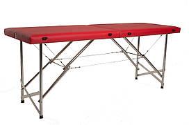 """Масажний стіл кушетка """"Стандарт"""" Складаний для косметологічних і масажних процедур"""