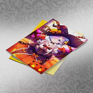 Скетчбук А5 кремовые листы Re Zero 30 листов 003