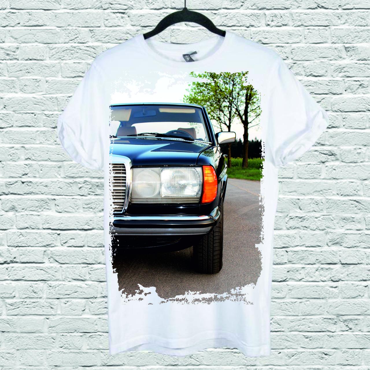 Футболка YOUstyle Car 0216 XS White