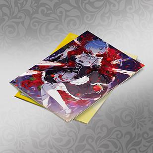 Скетчбук А5 кремовые листы Re Zero 30 листов 008