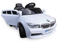 Дитячий електромобіль на акумуляторі Cabrio B4 ЄВА білий, з пультом управління, фото 1
