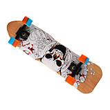 Скейт 823, наждак, колёса PU, фото 4