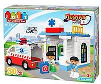 "Конструктор JDLT 5171 ""Пункт швидкої допомоги"" (репліка Lego Duplo)"