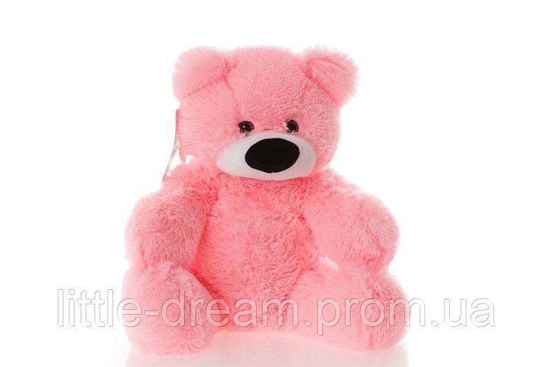 Плюшевый мишка Алина Бублик 55 см розовый