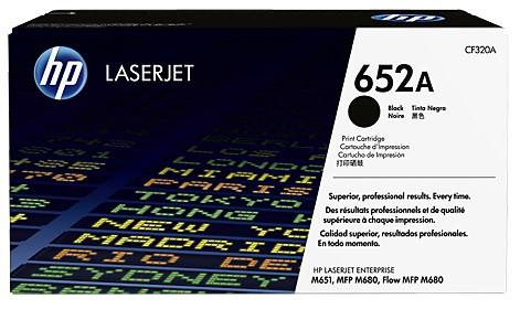 Тонер-картридж HP 652A CLJ M651/M680 Black 11500 страниц