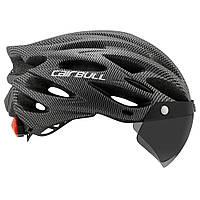 Сверхлегкий велосипедный шлем со съемным козырьком Cairbull