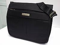 Мужская текстильная сумка для ноутбука через плечо LEADHAKE 6212