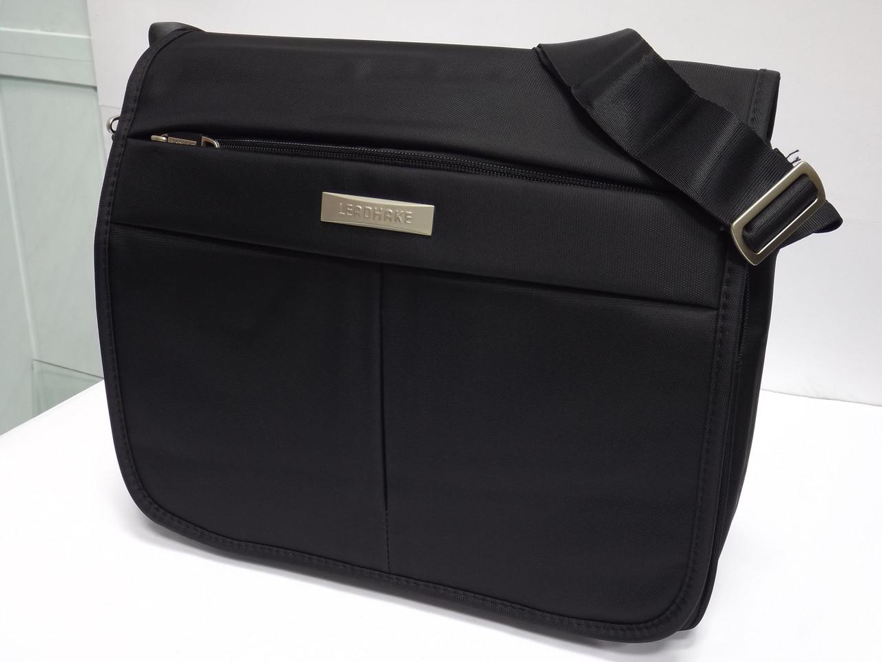 5432fbbe19b4 Мужская текстильная сумка для ноутбука через плечо Leadhake 6212 -  интернет-магазин