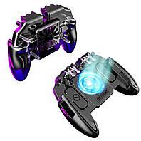 Геймпад Union M11 Pro с пистолетными курками для игры в 6 пальцев куллер охлаждения PUBG Mobile Call Of Duty
