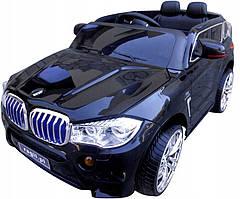 Дитячий електромобіль на аккумулятореCABRIO B6 Eva чорний, з пультом управління