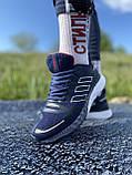Стильні кросівки adidas blue/ Адідас сині, фото 2