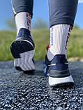 Стильні кросівки adidas blue/ Адідас сині, фото 3