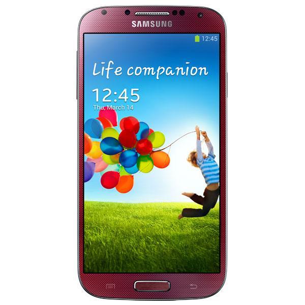Samsung Galaxy S4 I9500 2/16 Red La Fleur Grade B2 Б/У