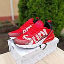 Мужские кроссовки в стиле Nike Air Max 270 Supreme красные, фото 2