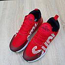 Мужские кроссовки в стиле Nike Air Max 270 Supreme красные, фото 8