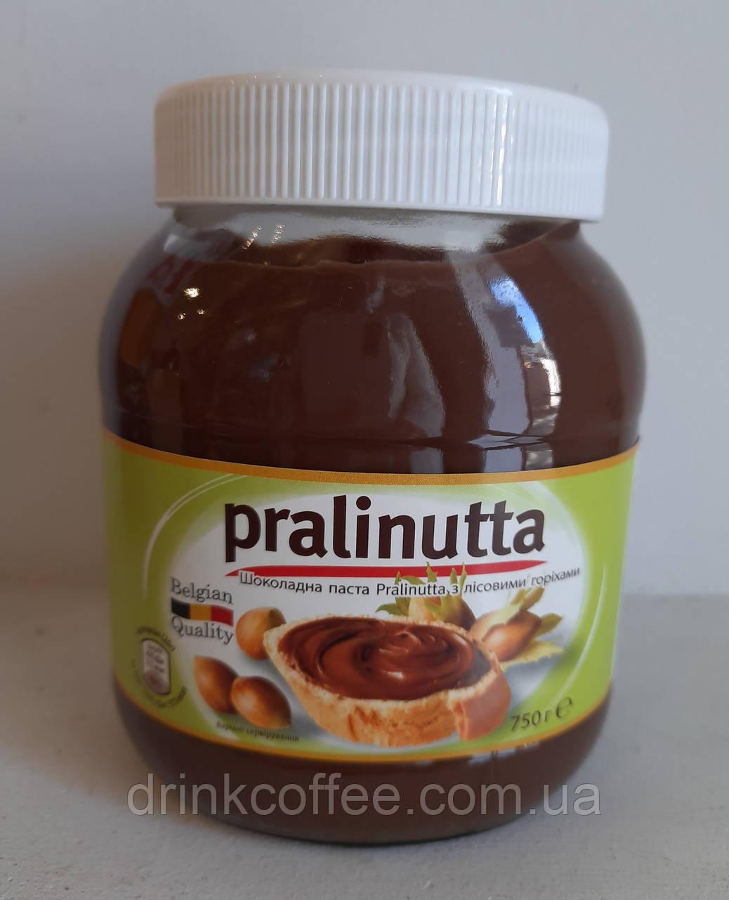 Шоколадная паста Pralinutta с лесным орехом 750г Бельгия