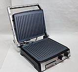 Гриль электрический DSP KB1036 профессиональный с функцией контроля температуры [2000 ВТ], фото 6