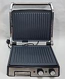 Гриль электрический DSP KB1036 профессиональный с функцией контроля температуры [2000 ВТ], фото 7