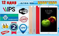 Планшет телефон 12 ядер, 2/32GB, 2SIM,GPS, 2560x1600, 10.1' Android 8.0. Гарантия., фото 1