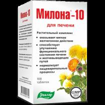 Милона-10 для печени 100таб Эвалар Алтайский Край Бийск Россия
