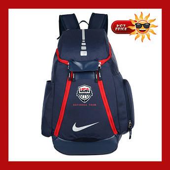 Баскетбольный рюкзак с карманом для мяча Nike Elite USA