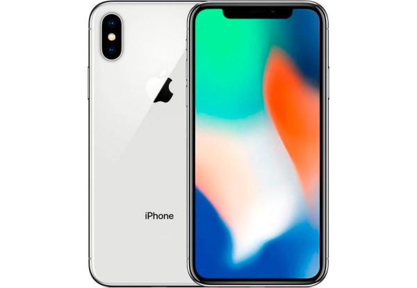 Apple iPhone X 64GB Silver Refurbished