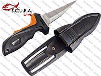 Нож для подводной охоты и дайвинга MARES Stiletto