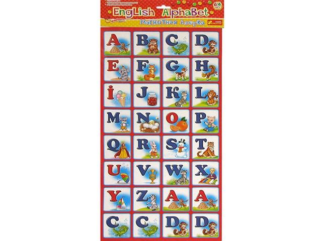 "Магнітна Абетка ""Ранок"" English Alphabet №13133004Р/4204(100)"