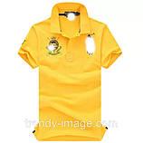 В стиле Ральф поло 100% хлопок мужская футболка поло ралф, фото 2