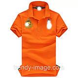 В стиле Ральф поло 100% хлопок мужская футболка поло ралф, фото 5