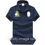 В стиле Ральф поло 100% хлопок мужская футболка поло ралф, фото 4
