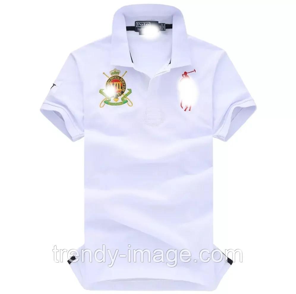 В стиле Ральф поло 100% хлопок мужская футболка поло ралф