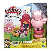 Набор игровой Play Doh Озорные поросята. PLAY-DOH E6723, фото 1